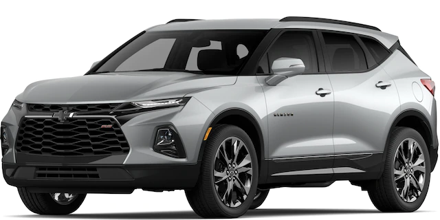 2020 Chevrolet Blazer in Silver Ice Metallic