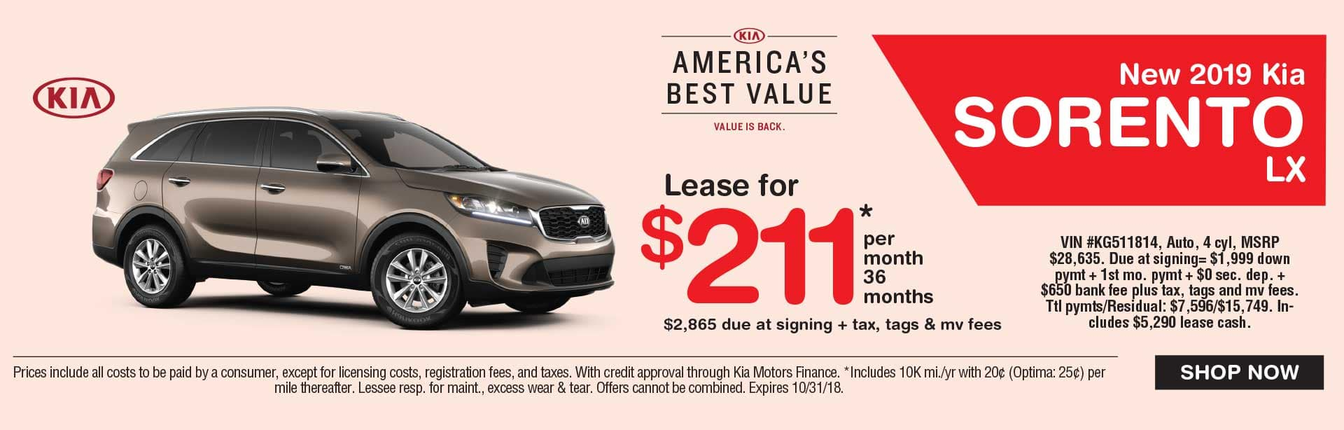 Awesome Kia Sorento Lease Global Kia