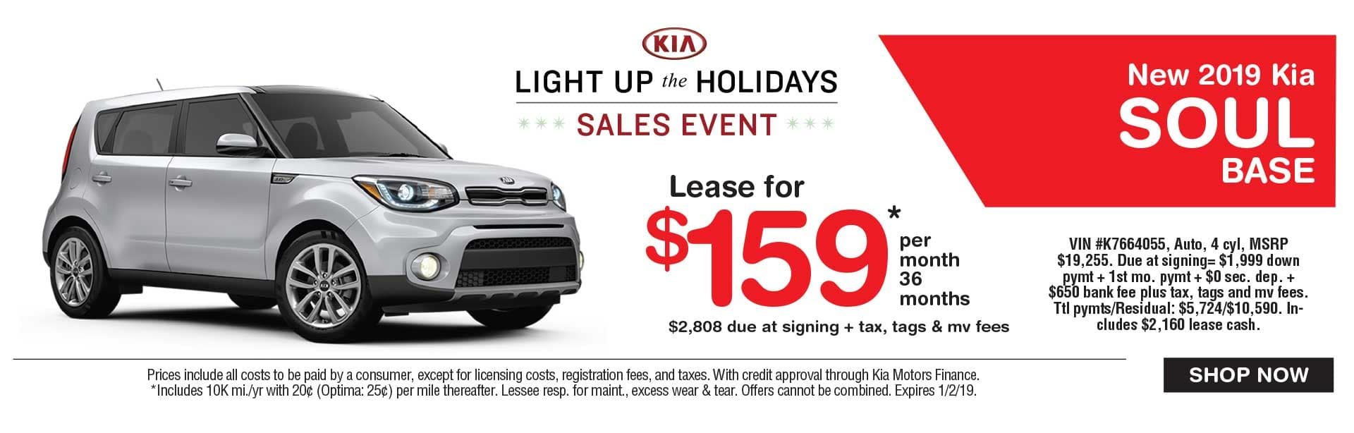 Kia Soul lease savings at Global Kia