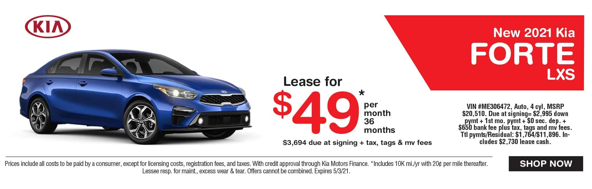 Kia Forte Lease Spring Savings Kia Dealer NJ near me
