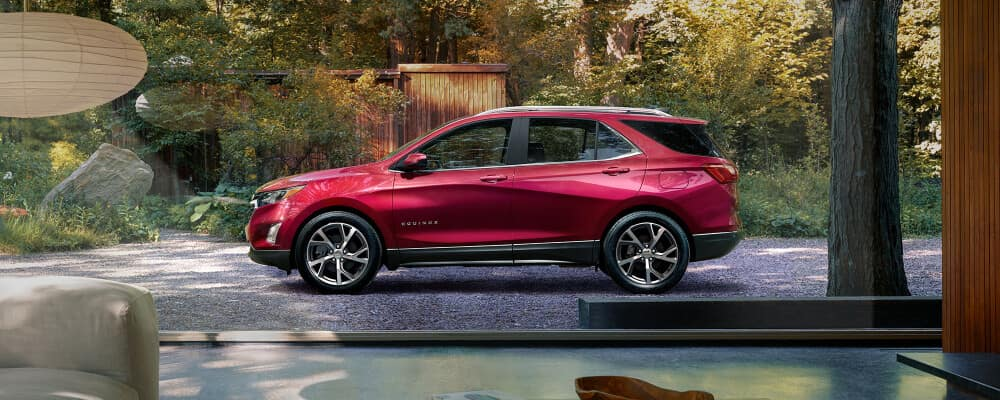 2021 Chevrolet Equinox parked at a house