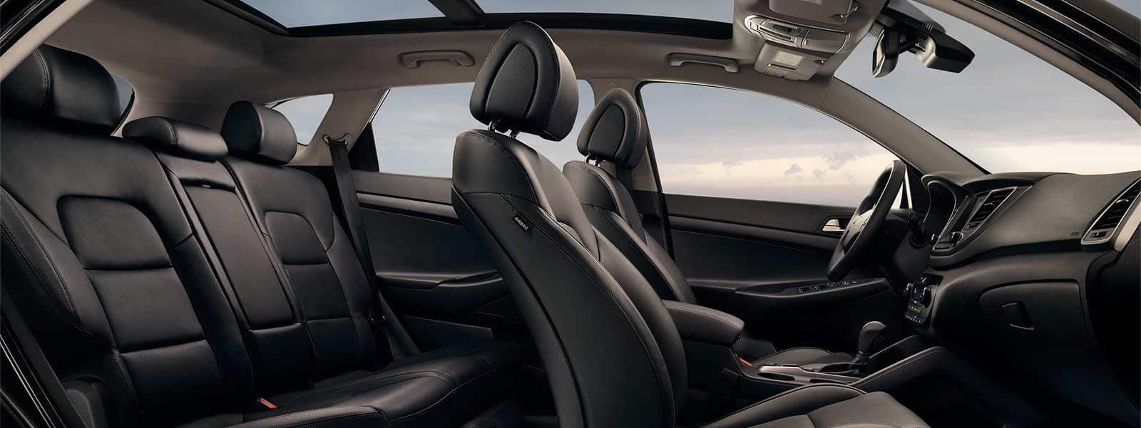 2016 Tucson Limited Ultimate Black 0058 Seats