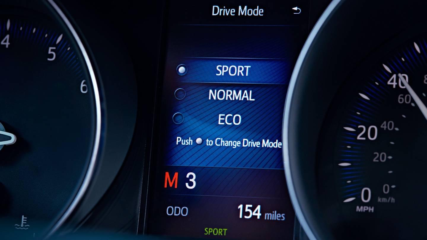2018 Toyota C-HR Sport Mode