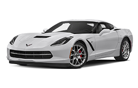 Corvette in White