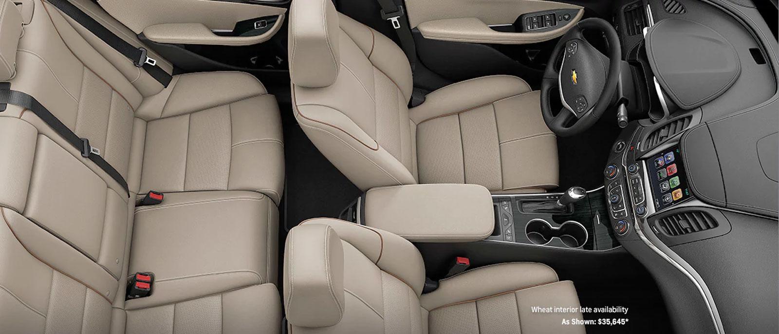 2017 Chevrolet Impala Msrp Mgp Safety Interior Technology More 2005 Chrysler Pt Cruiser Fuel Filter