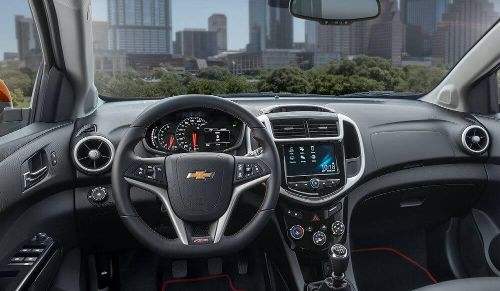 2017 Chevrolet Sonic Info Exterior Interior Technology Safety