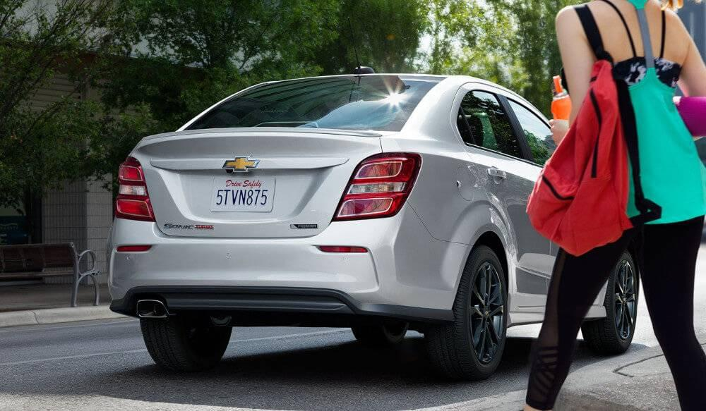 2017 Chevrolet Sonic rear camera