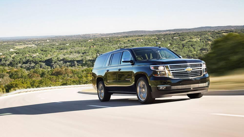 2017 Chevy Suburban Driving