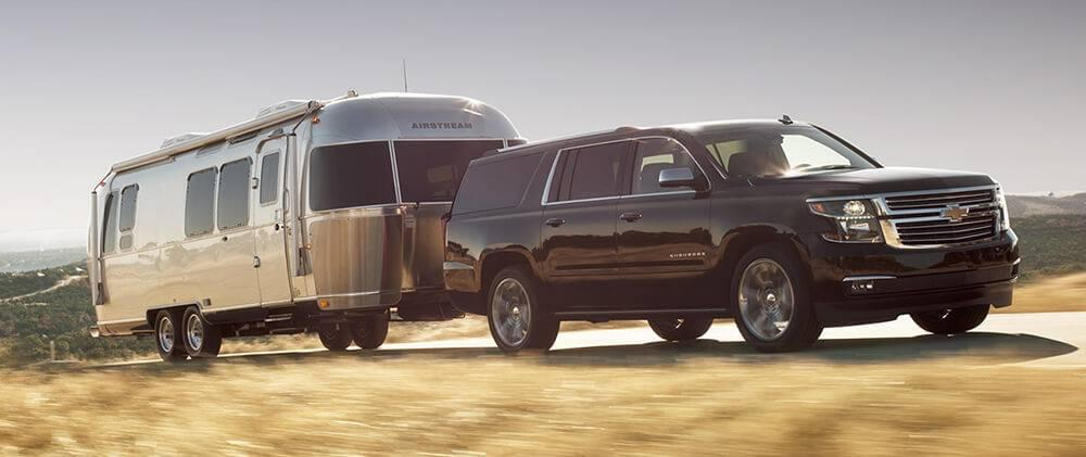 2017 Chevy Suburban Towing