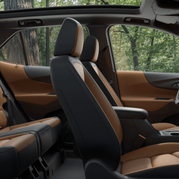 Look Inside Chevrolet Equinox Seats