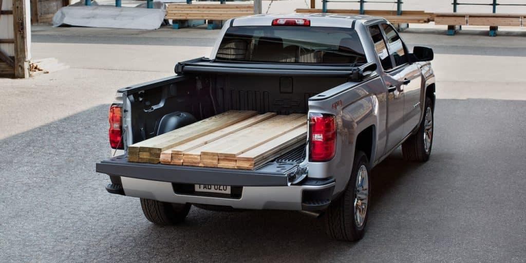 Silverado and wood
