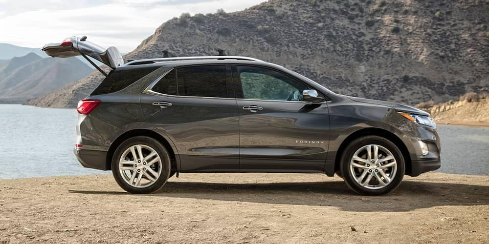 2019 Chevrolet Equinox by the lake