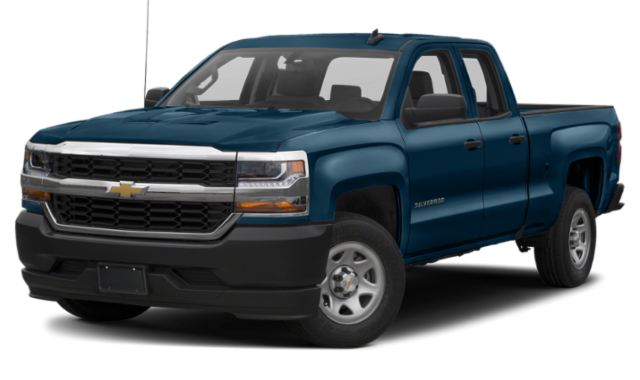 Blue 2019 Chevrolet Silverado 1500 thumbnail