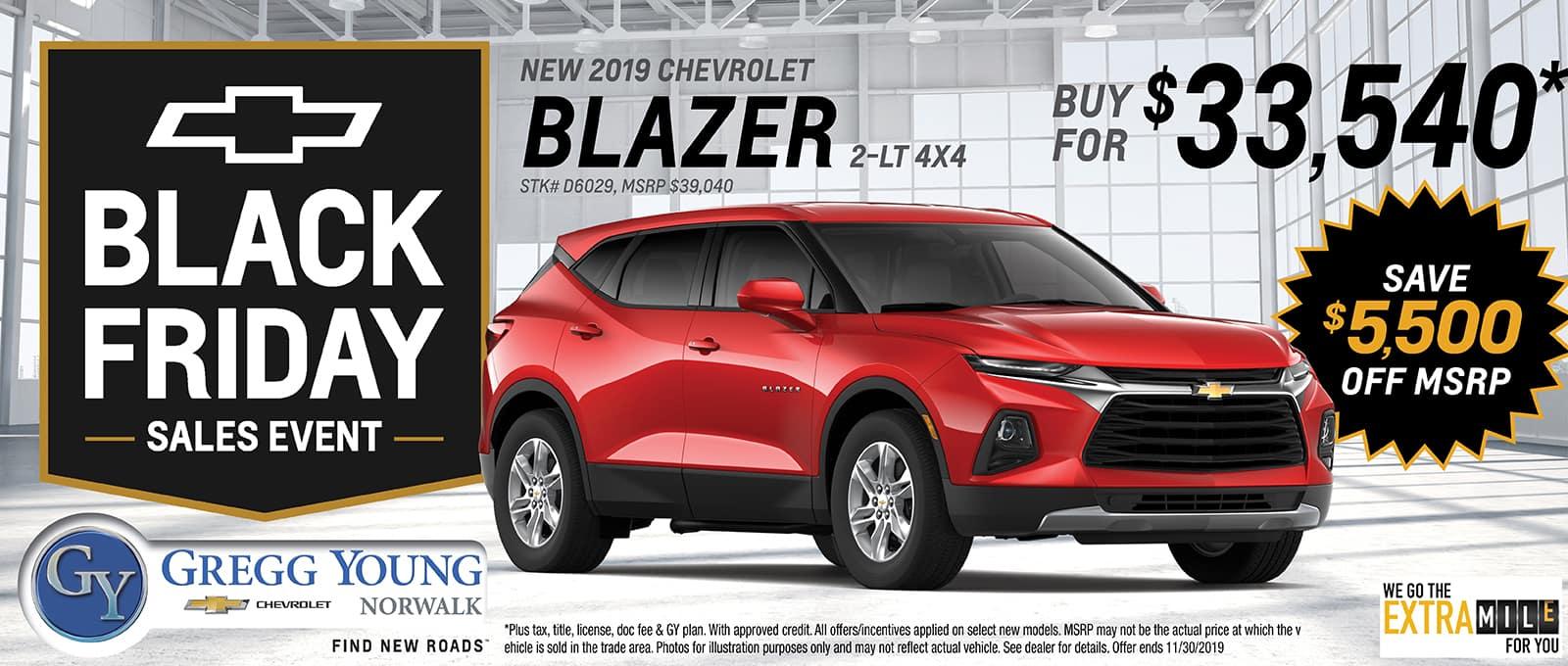 2019 Chevy Blazer