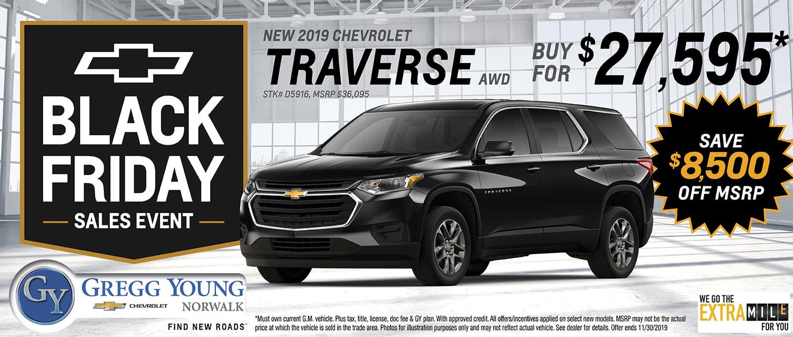 2019 Chevy Traverse