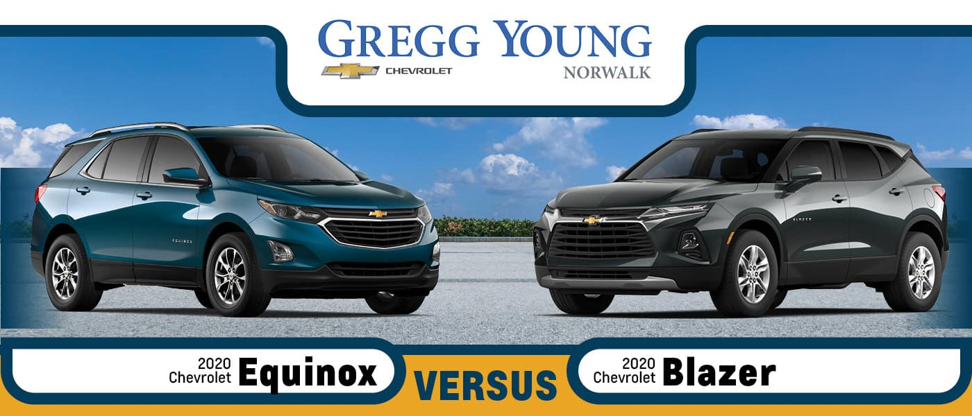 2020 Chevy Equinox vs 2020 Chevy Blazer