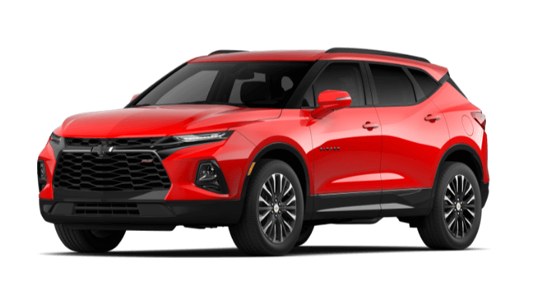 2020 Chevy Blazer RS - Red Hot