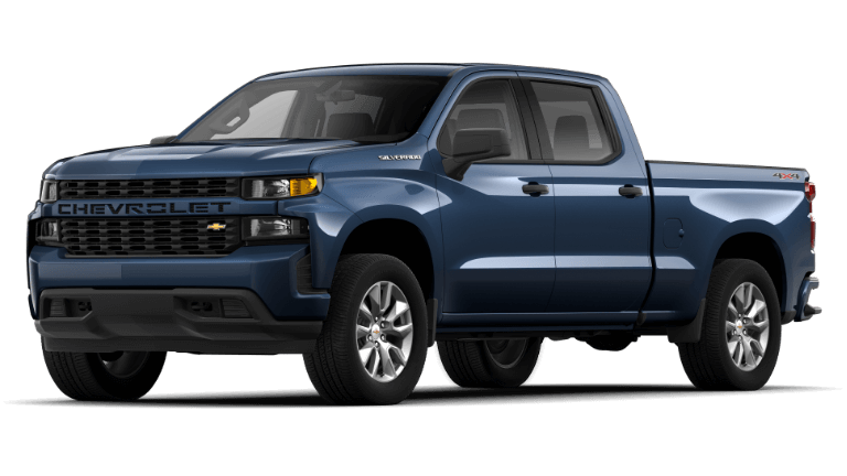 2020 Chevrolet Silverado 1500 Custom - Northsky Blue
