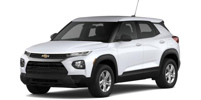 2021 Chevy Trailblazer l trim in white