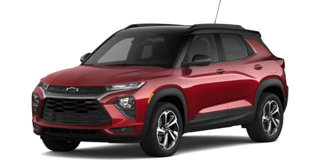 2021 Chevy Trailblazer RS trim