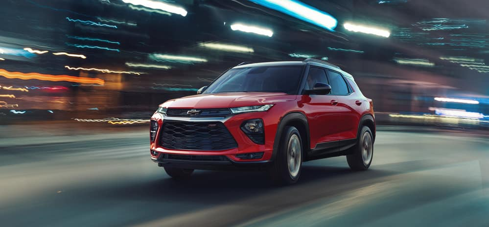 2021 Chevrolet Trailblazer trim levels