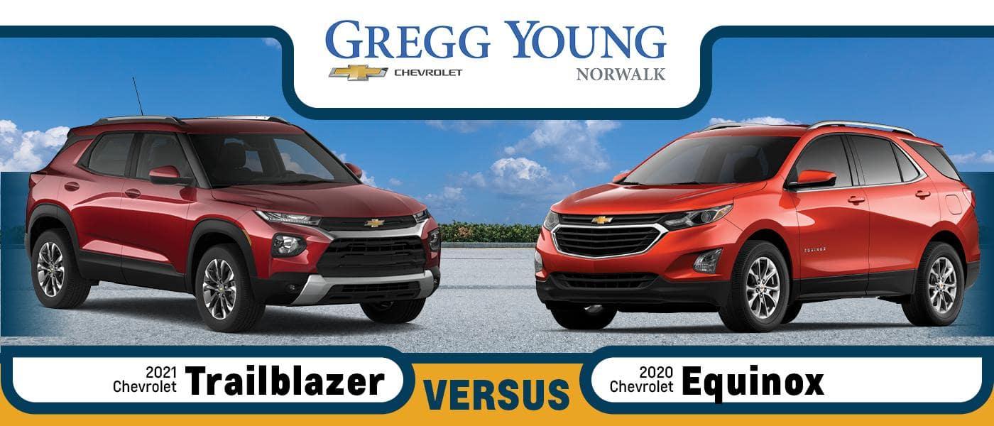 2021 Chevy Trailblazer vs 2020 Chevy Equinox