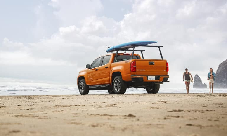 2021 Chevy Colorado color options