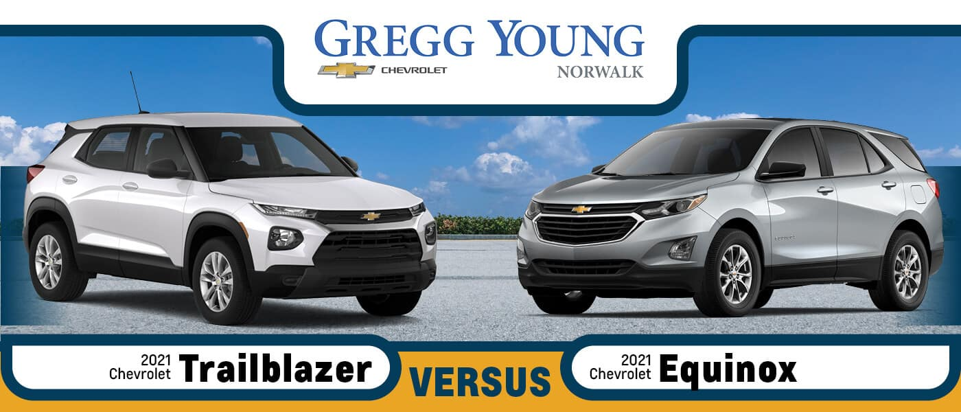 2021 Chevy Trailblazer vs. 2021 Chevy Equinox
