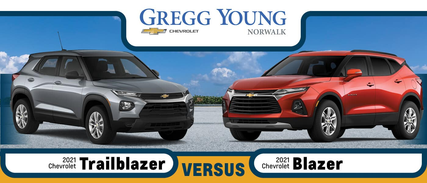 2021 Chevy Trailblazer vs. 2021 Chevy Blazer