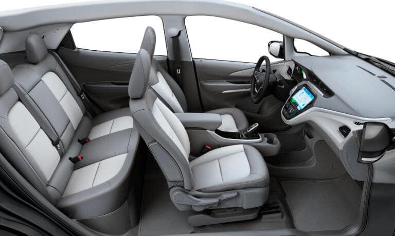 2021 Chevy Bolt EV interior side view