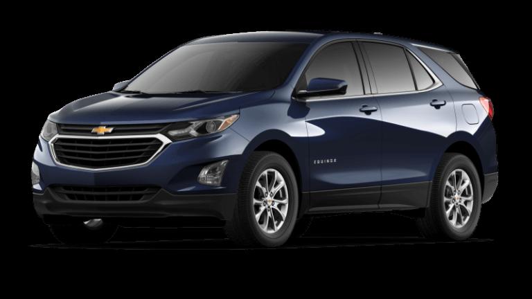 2021 Chevy Equinox LT - Midnight Blue