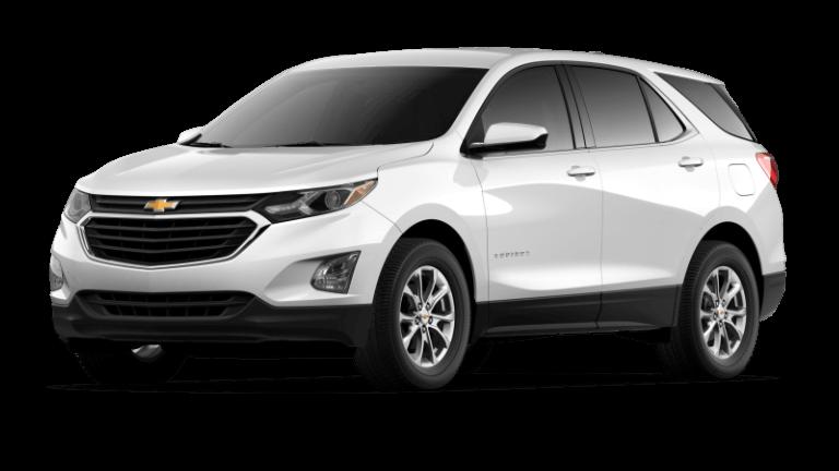 2021 Chevy Equinox LT - Summit White