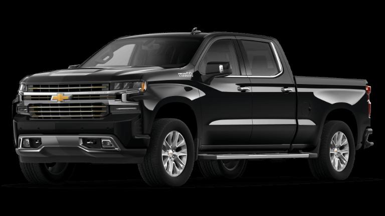 2021 Chevy Silverado 1500 High Country in Black