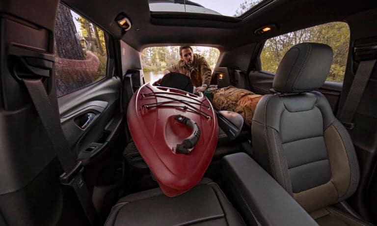 2021 Chevy Trailblazer interior cargo space