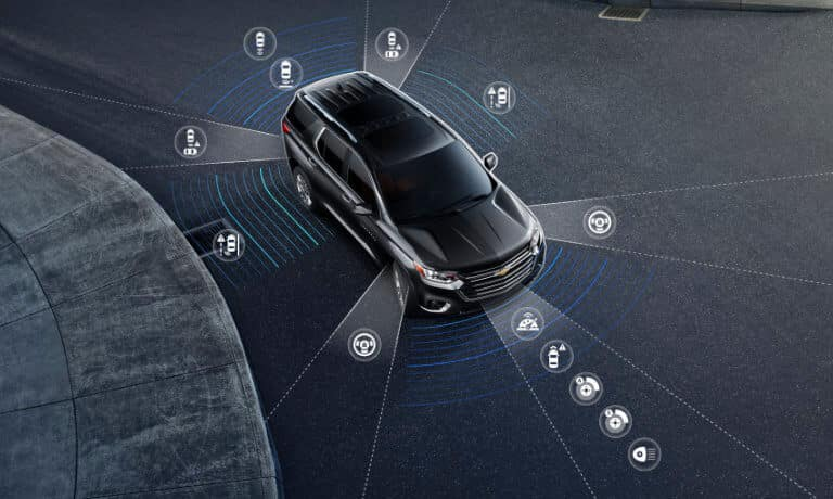 2021 Chevy Traverse safety sensors