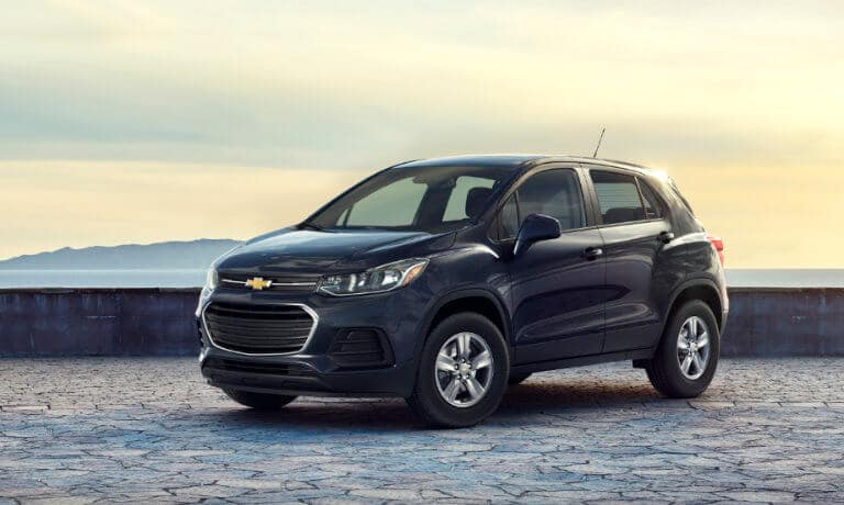 2021 Chevy Trax exterior at coastal lookout
