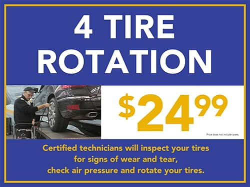 4 Tire Rotation
