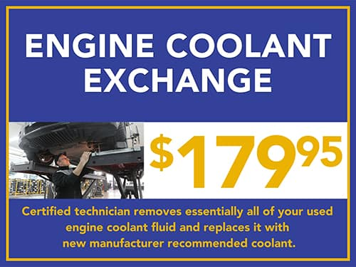 Engine Coolant Exchange