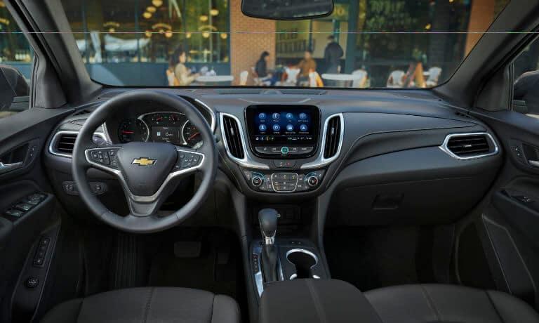 2022 Chevy Equinox interior front seat