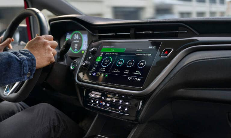 2022 Chevy Bolt interior infotainment