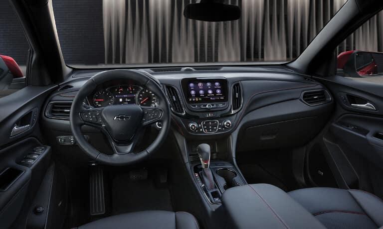 2022 Chevy Equinox interior view