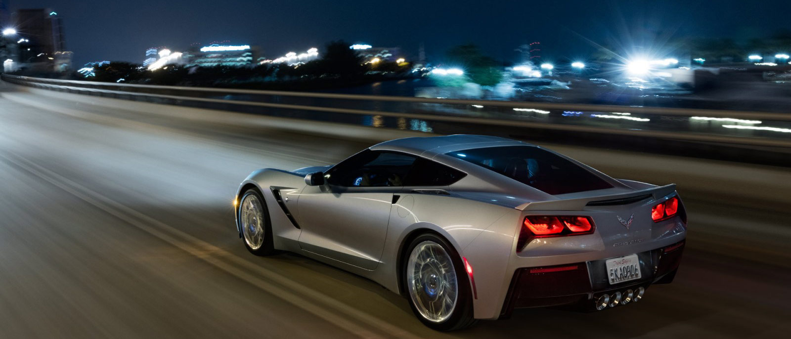 2016 Chevrolet Corvette Stingray Driving