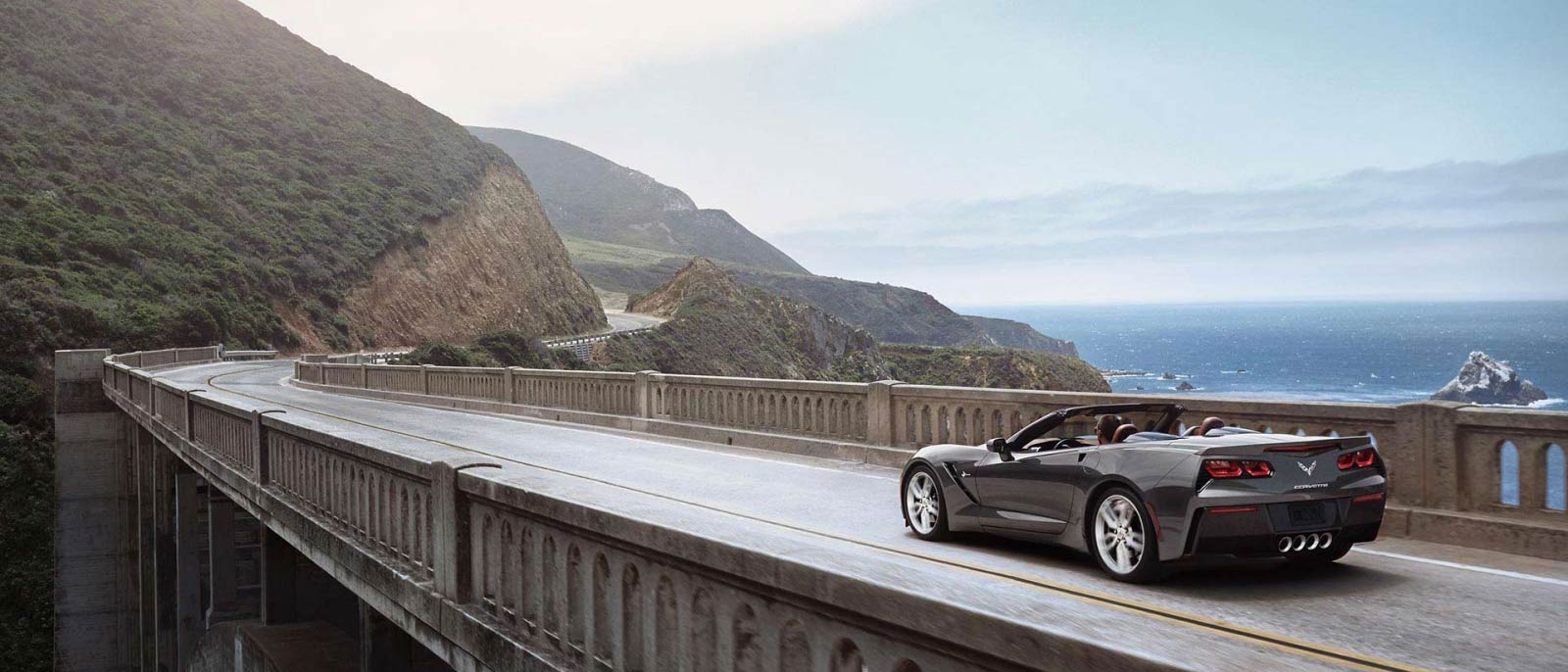 2016 Chevrolet Corvette Stingray On Bridge