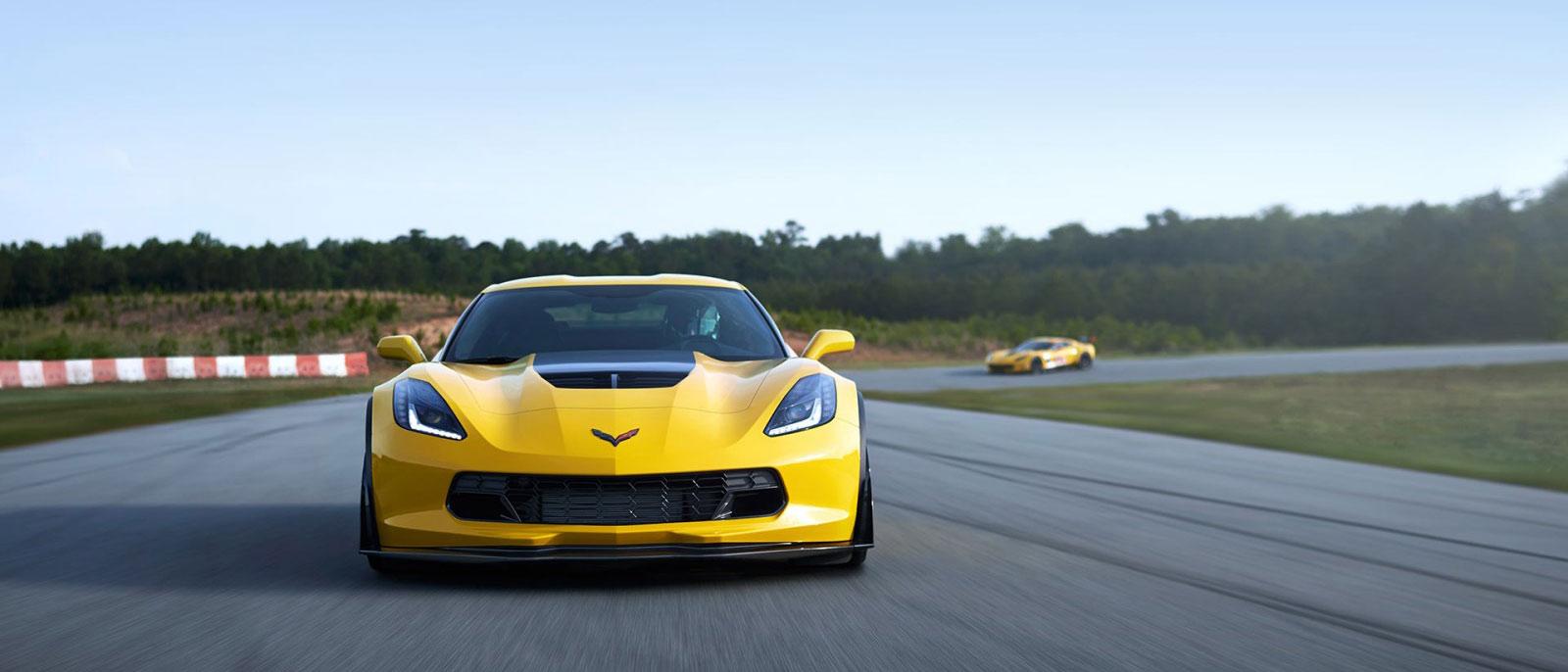 Yellow 2016 Chevrolet Corvette Z06