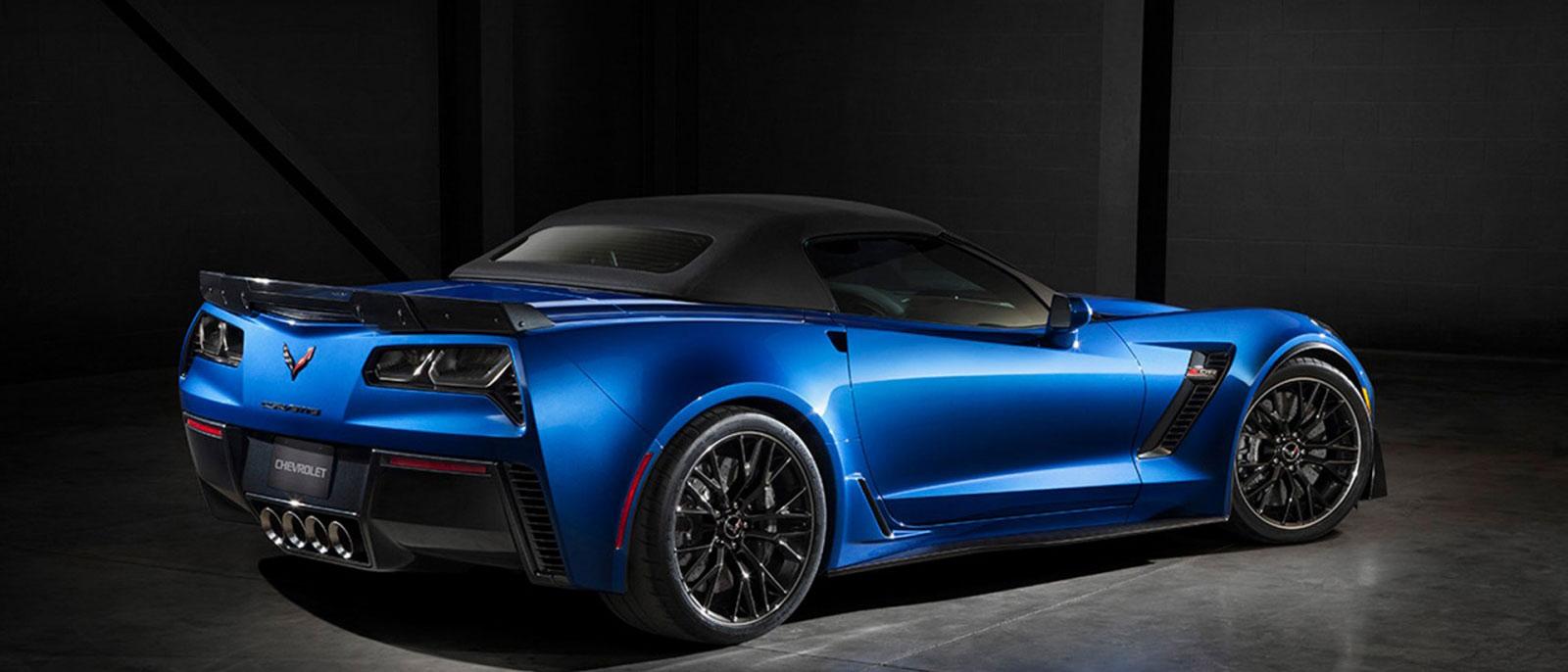 Blue 2016 Chevrolet Corvette Z06