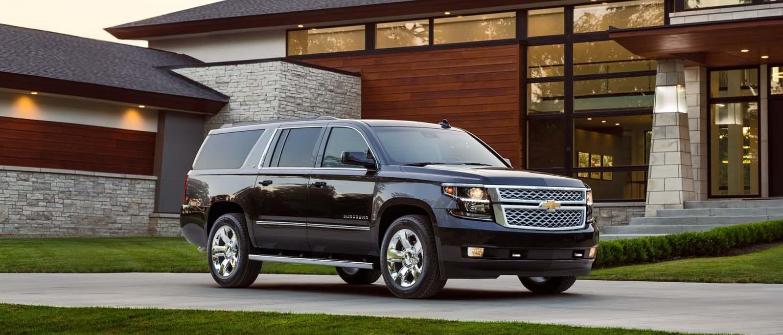 2017 Chevy Suburban Parked