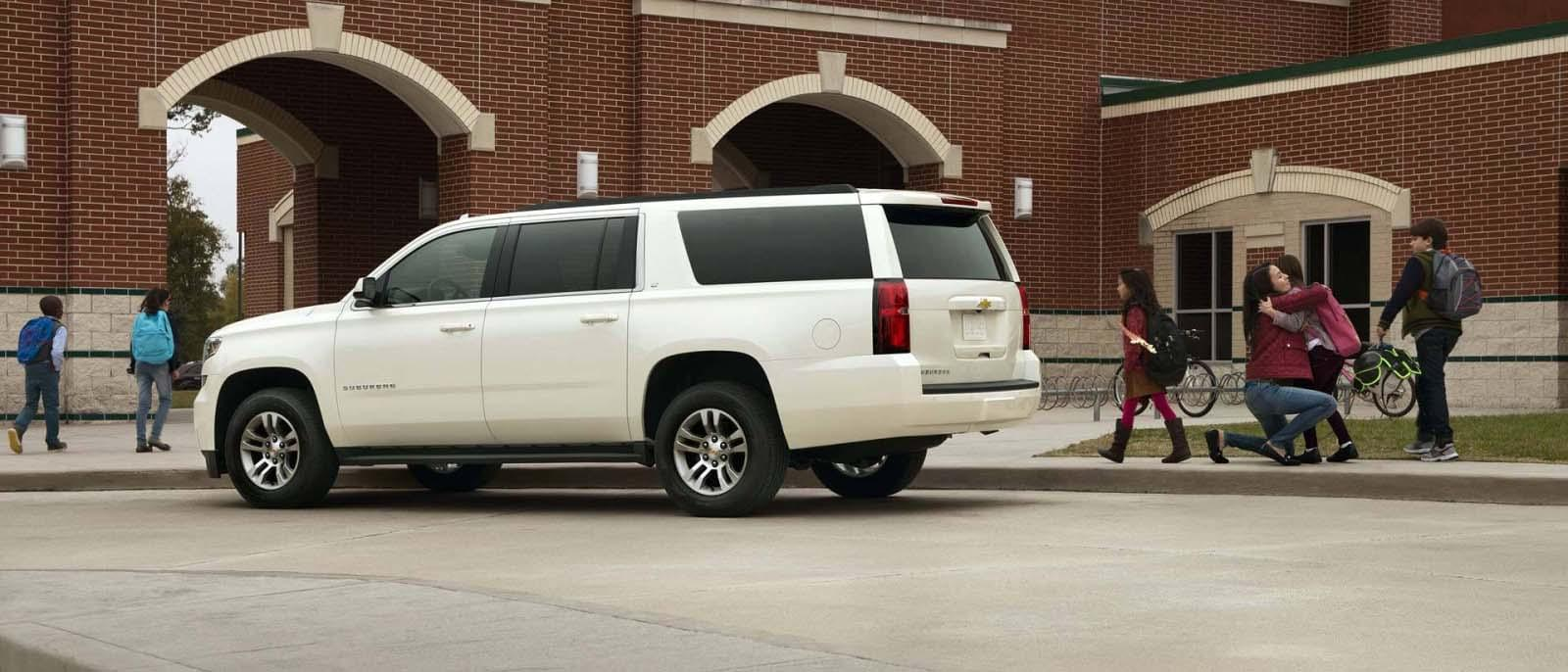 2017 Chevy Suburban White