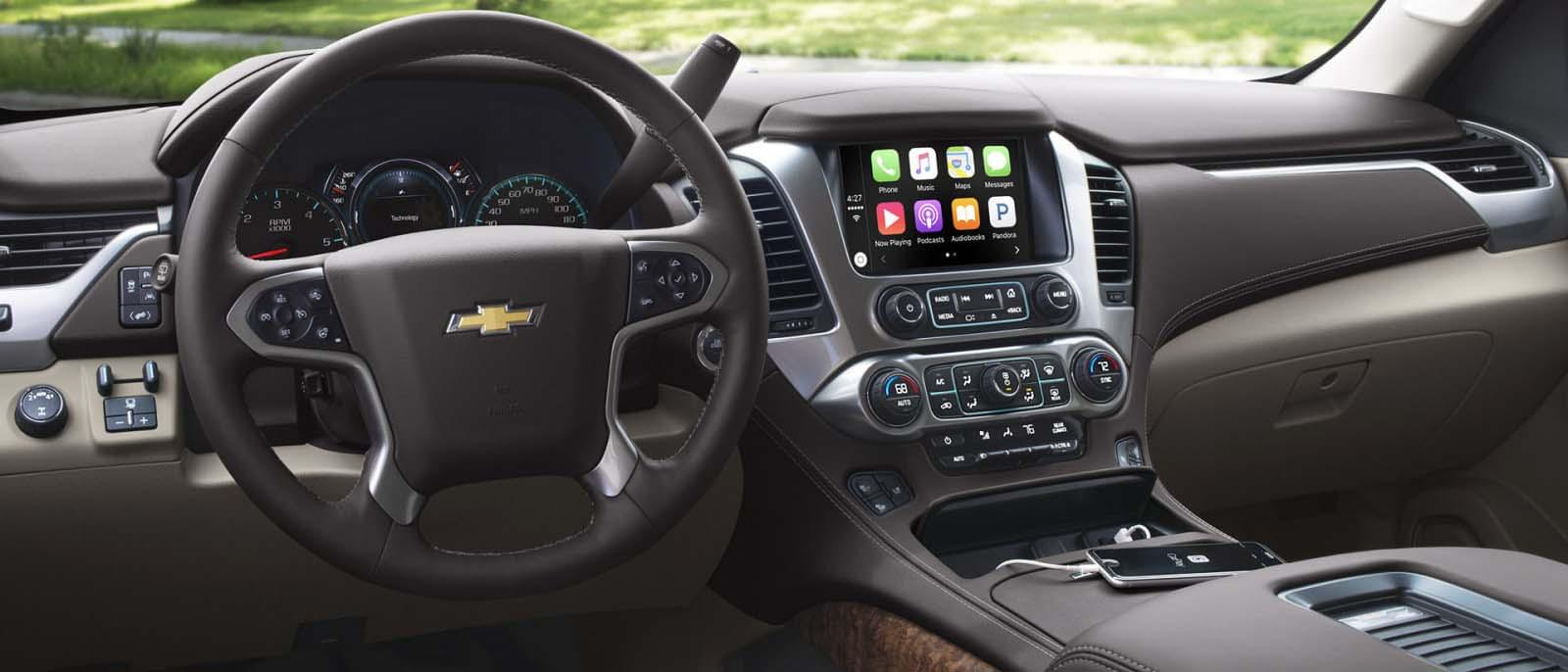 2017 Chevy Suburban Dash