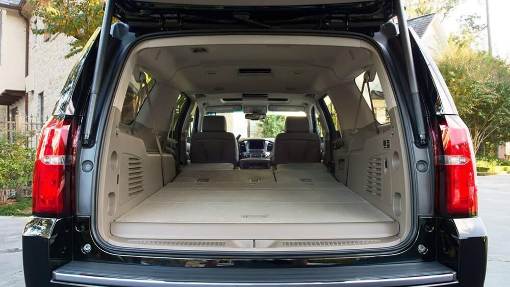 2017 Chevy Suburban Space