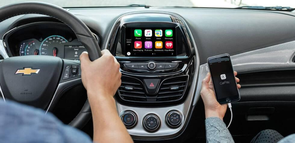 2017 Chevrolet Spark Apple CarPlay